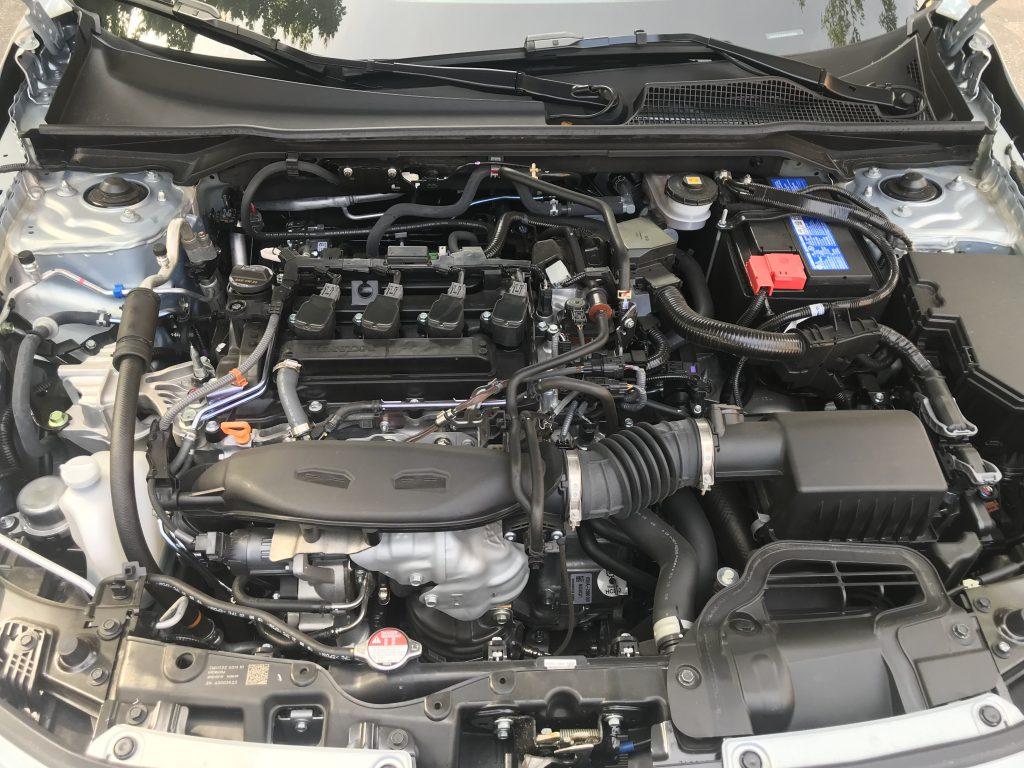 2022 Honda Civic Touring 1.5-liter engine