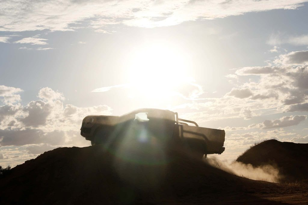 2023 Ford Ranger teaser image
