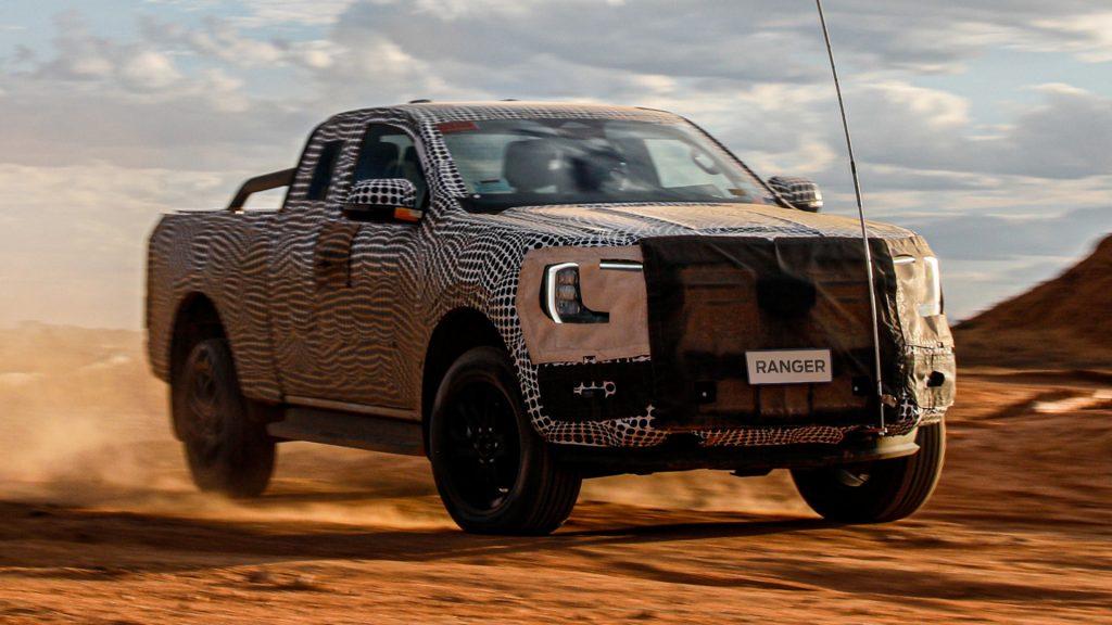 2023 Ford Ranger tease
