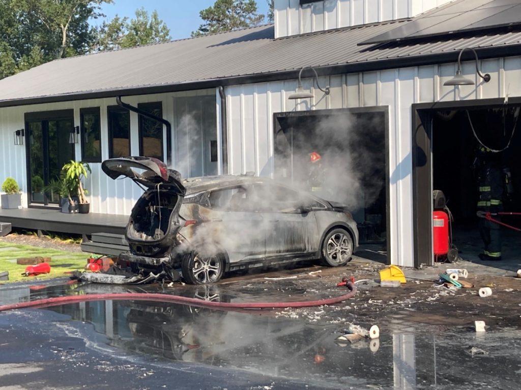 Chevy Bolt fire