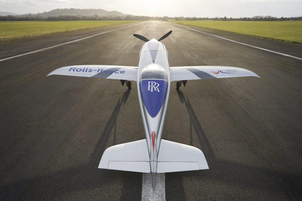 Rolls-Royce Electric Plane: Spirit of Innovation