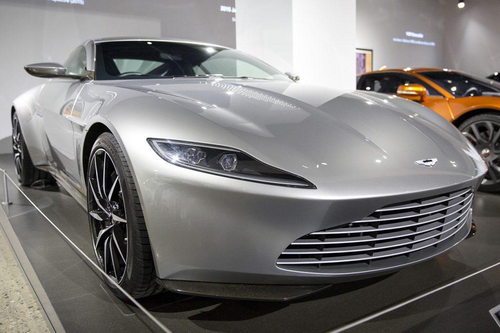"Aston Martin DB10 from the James Bond film ""Spectre"""