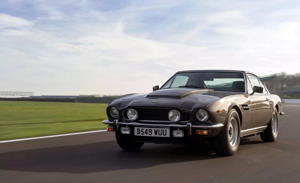 """1985 Aston Martin V8 Saloon as seen in the James Bond film """"The Living Daylights"""""""
