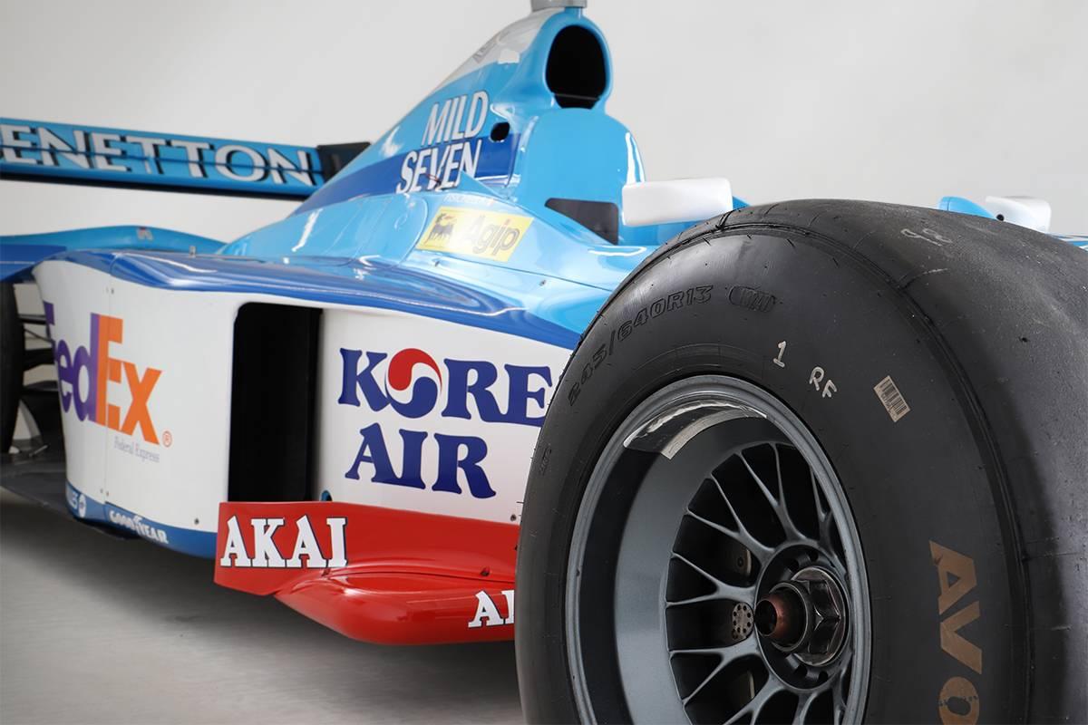 1998 Benetton B198