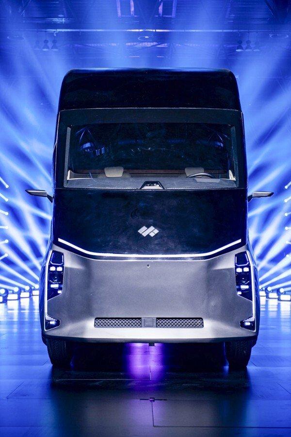"Baidu/DeepWay autonomous ""robot truck"""