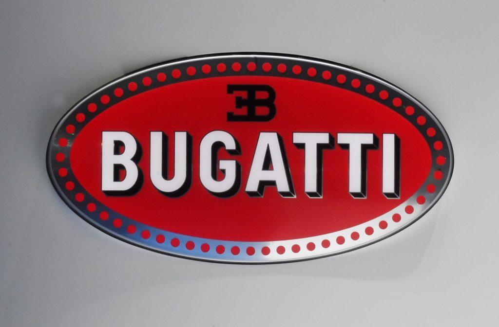 Logo for the Bugatti for the top Bugatti car models