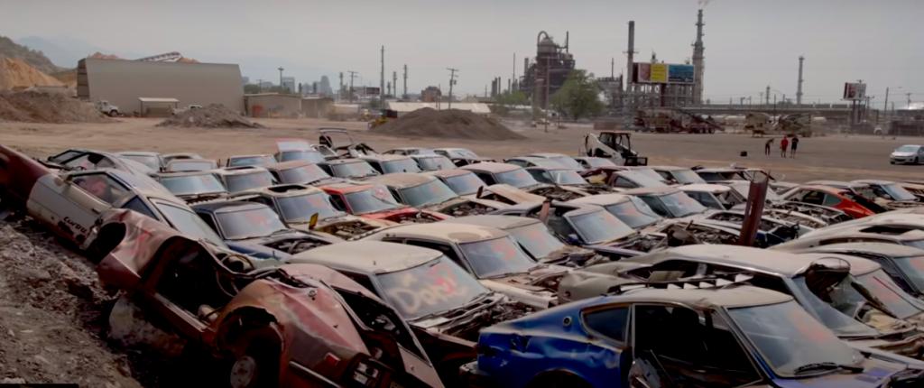 Diesel Brothers Nissan/Datsun Z-car smashup
