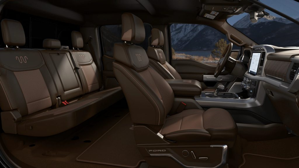 F-150 King Ranch leather interior