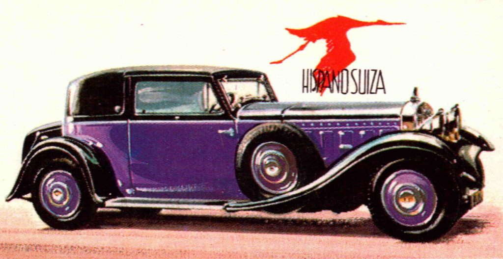 1931 Hispano-Suiza, Type 68 V12, 9.5 liters automobile | Universal History Archive/Universal Images Group via Getty Images
