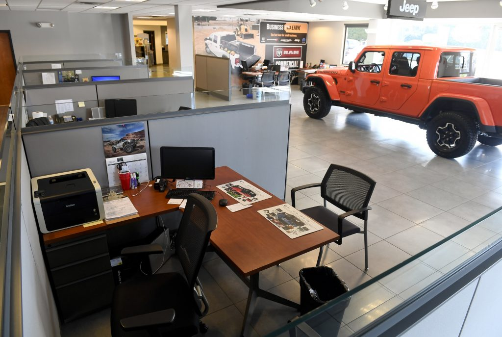 Car Dealership desk