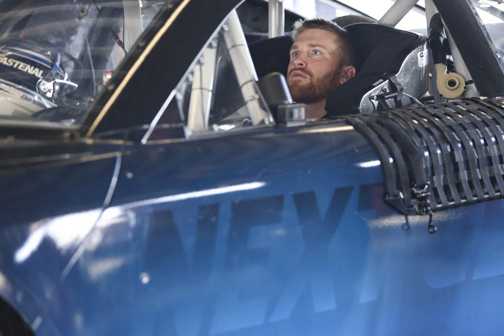 Chris Buescher testing a NASCAR Next Gen car. Drivers are complaining that NASCAR's Next Gen Cars Are Too Hot To Drive   James Gilbert/Getty Images