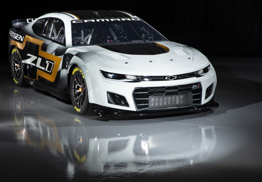 CONCORD, NORTH CAROLINA - APRIL 22: The NASCAR Next Gen Chevrolet Camaro is previewed at NASCAR R&D Center on April 22, 2021 in Concord, North Carolina. (Photo by Jared C. Tilton/Getty Images). NASCAR Next Gen Cars Are More Stock Than Current Cars