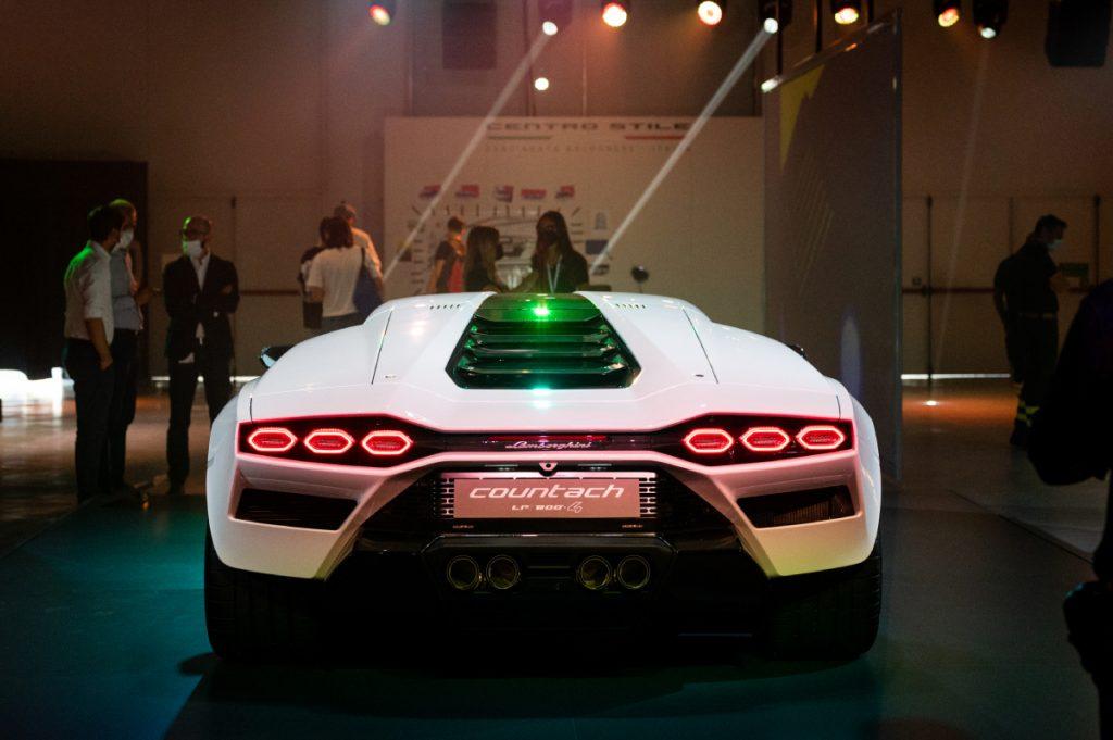 The new Lamborghini Countach