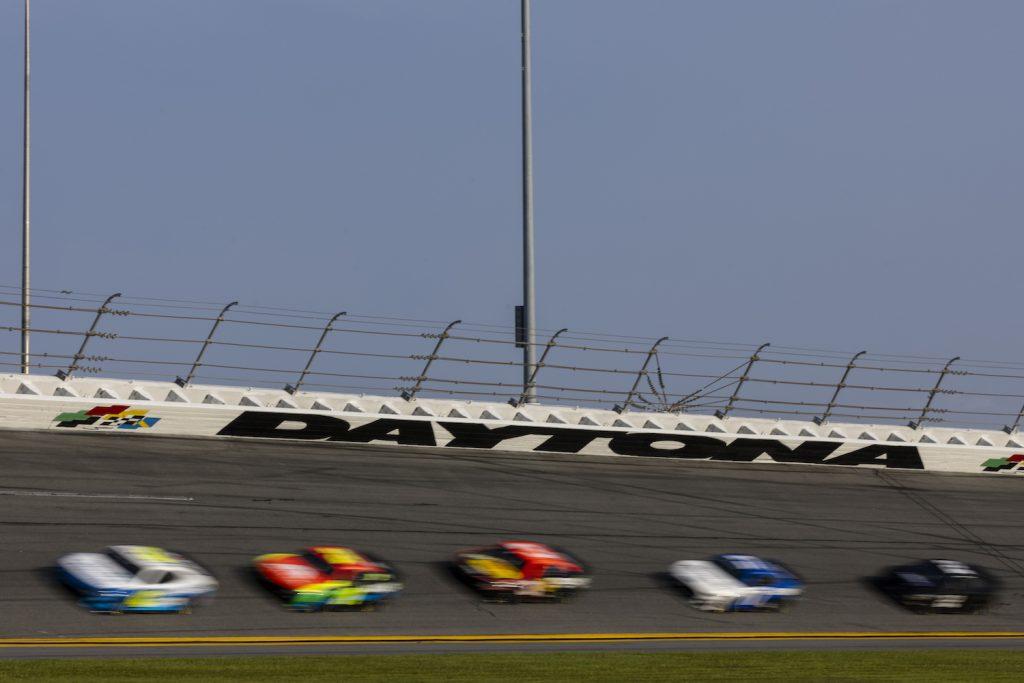 NASCAR testing its next gen cars at Daytona Speedway. The NASCAR Next Gen transaxle will change the sport.   James Gilbert/Getty Images