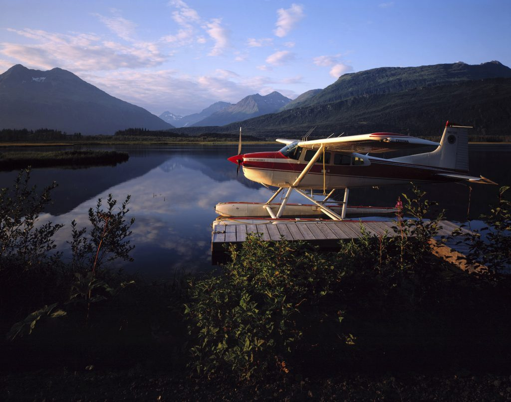 This is a floatplane, landed and docked on a lake near the village of Valdez in Alaska - USA. Alaska has the highest rate of deadly plane crashes in the country. | Mediacolors/Construction Photography/Avalon/Getty Images