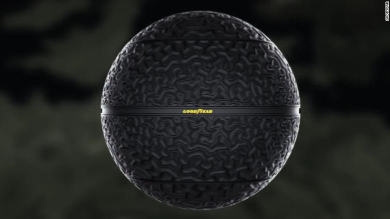 Goodyear spherical tire 2016