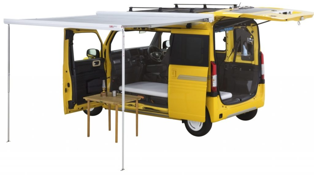 Honda N-Van camper concept