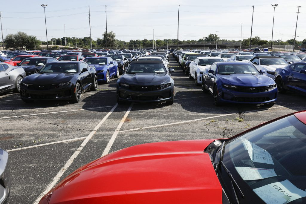 Chevy Camaros Stuck at Factory due to Semiconductor Chip Shortage, Even though People Are Buying These New Cars