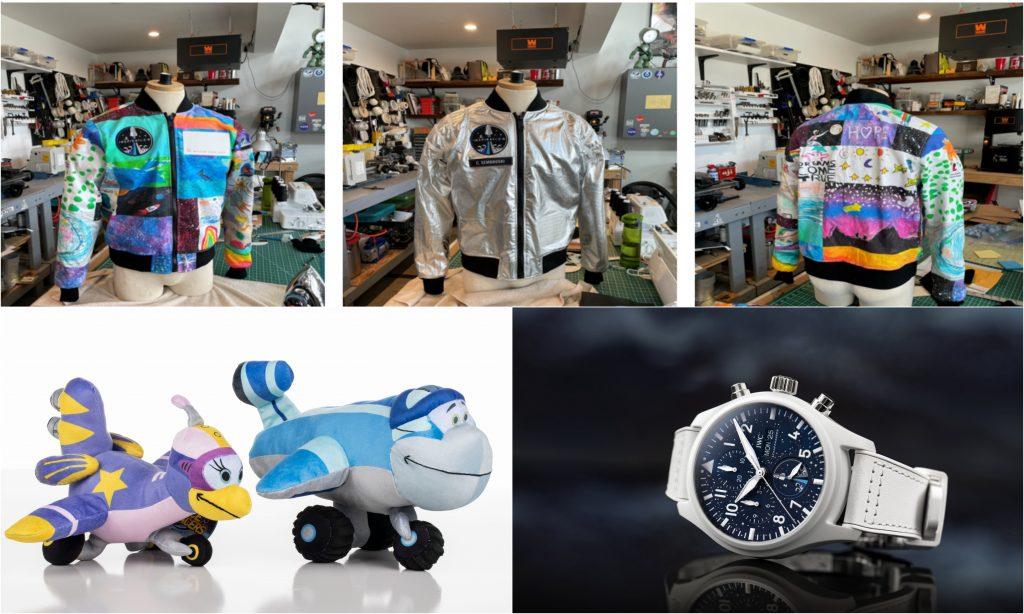Jackets, Watches, and Plushies On Board the SpaceX Inspiration4 Mission That'll Go Up For Auction