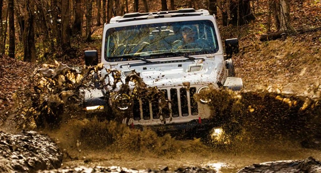 The Jeep Wrangler.