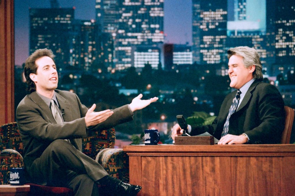 Jerry Seinfeld on 'The Tonight Show with Jay Leno'