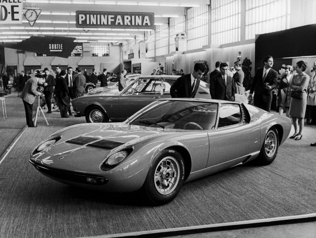 Lamborghini Miura prototype
