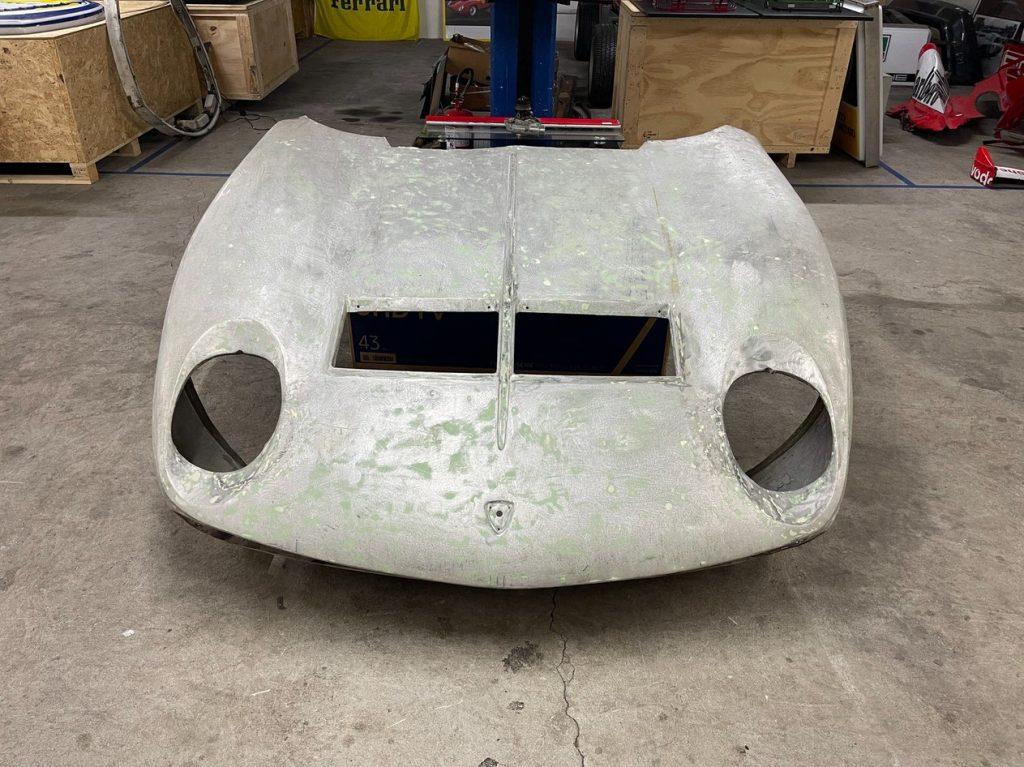 Lamborghini Miura front clip