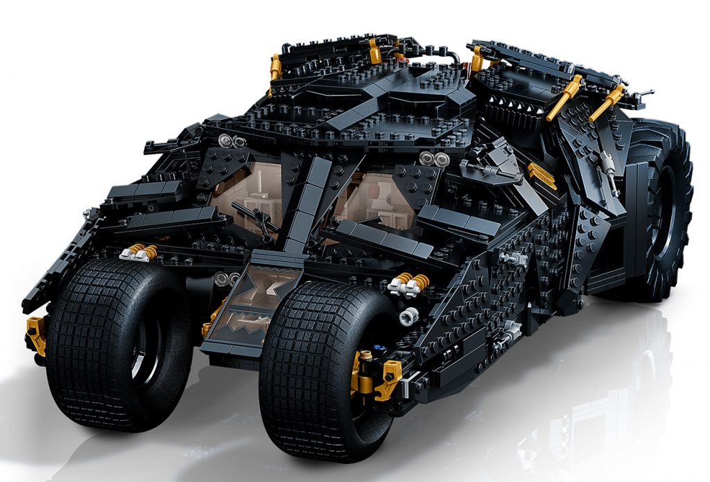 Lego DC Batman Tumbler Batmobile set which is due to release on October 1st, 2021.