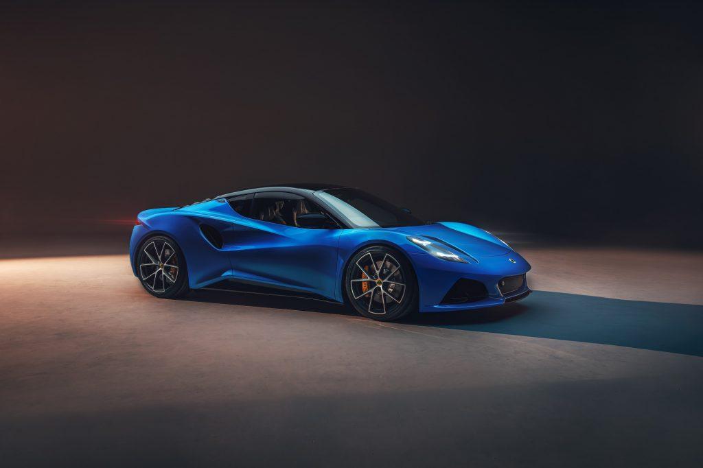 Lotus' last gas-powered sports car: the Emira