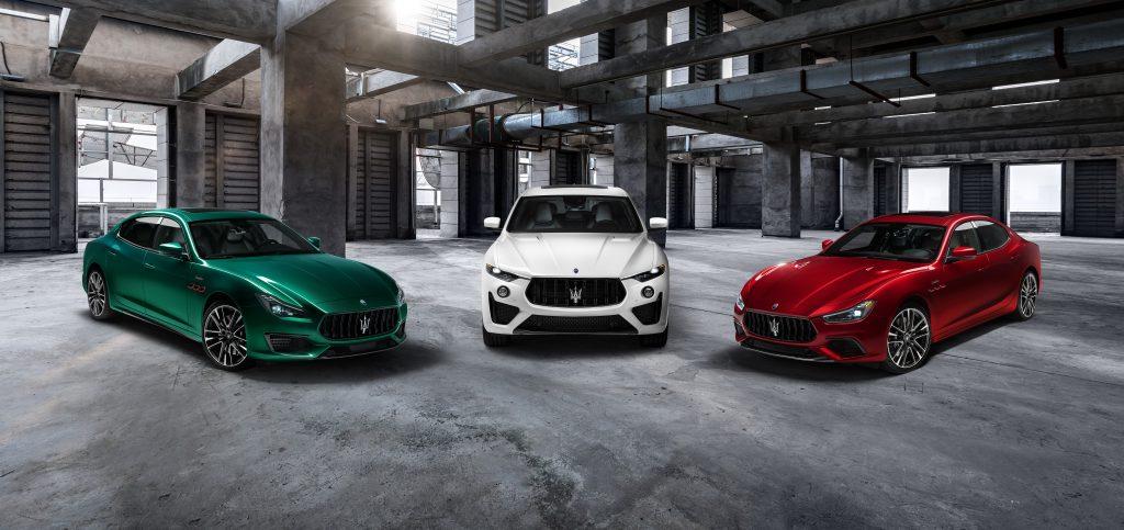 Maserati Ghibli and Quattroporte Trofeo