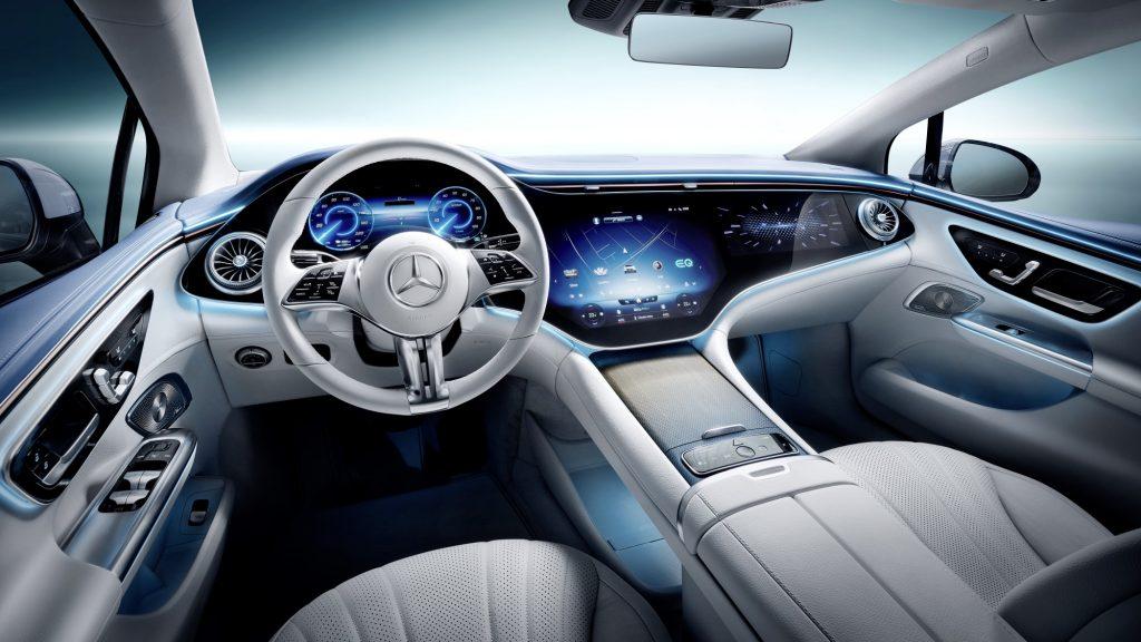 Mercedes-Benz EQE Sedan Interior