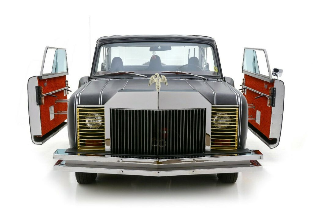 front grille of the Mohs Safarikar
