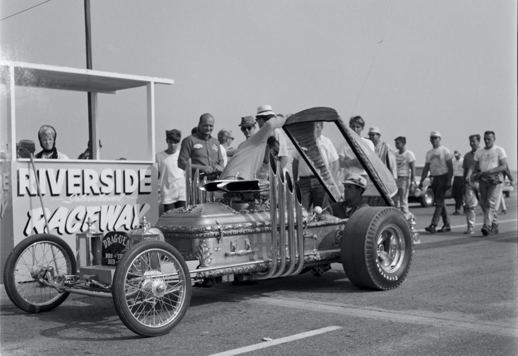 Munsters Dragula at Riverside Raceway in 1965