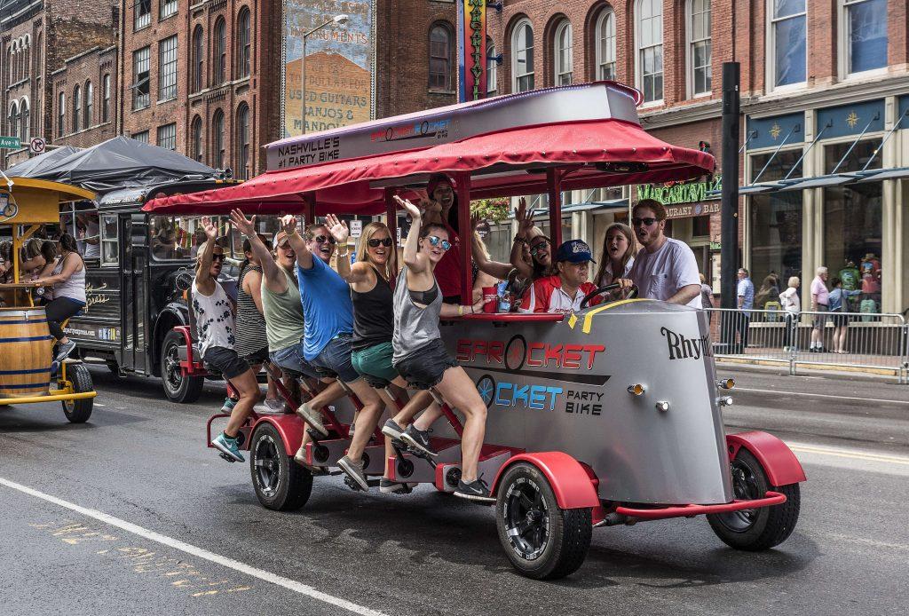 Nashville Broadway Party Vehicles | Getty