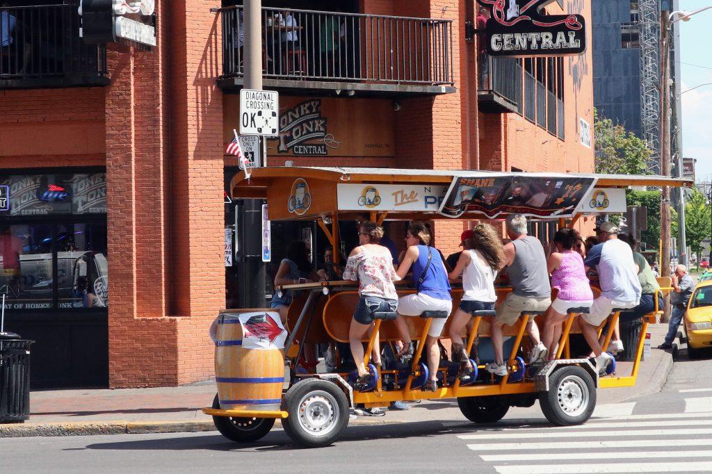 Nashville Broadway Party Vehicles
