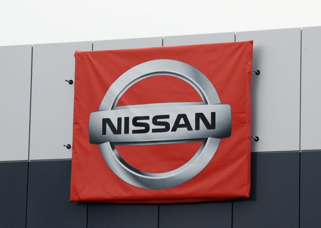 Nissan Logo on Dealership