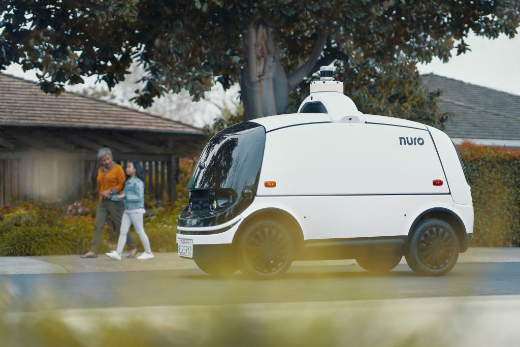 Nuro R2 Autonomous Electric Delivery Vehicle