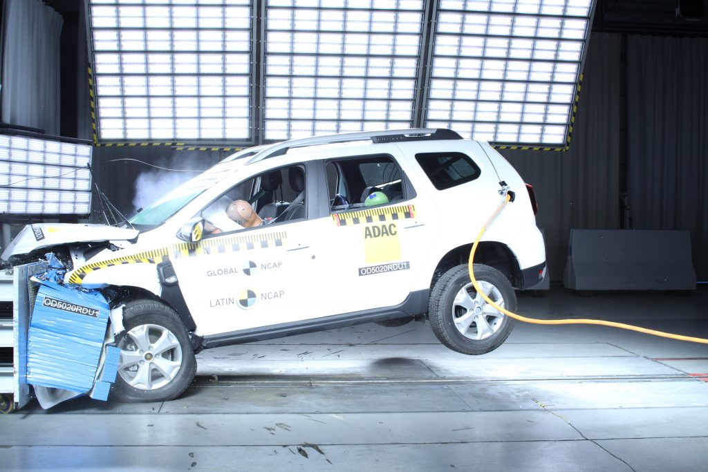 Renault Duster Got Zero-Star Safety Ratings