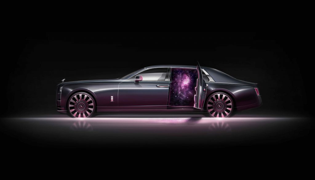 The new Rolls-Royce Phantom Tempus is inspired by time
