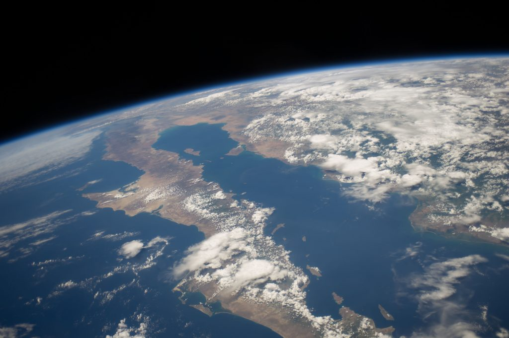 Photo Of Earth From Orbit