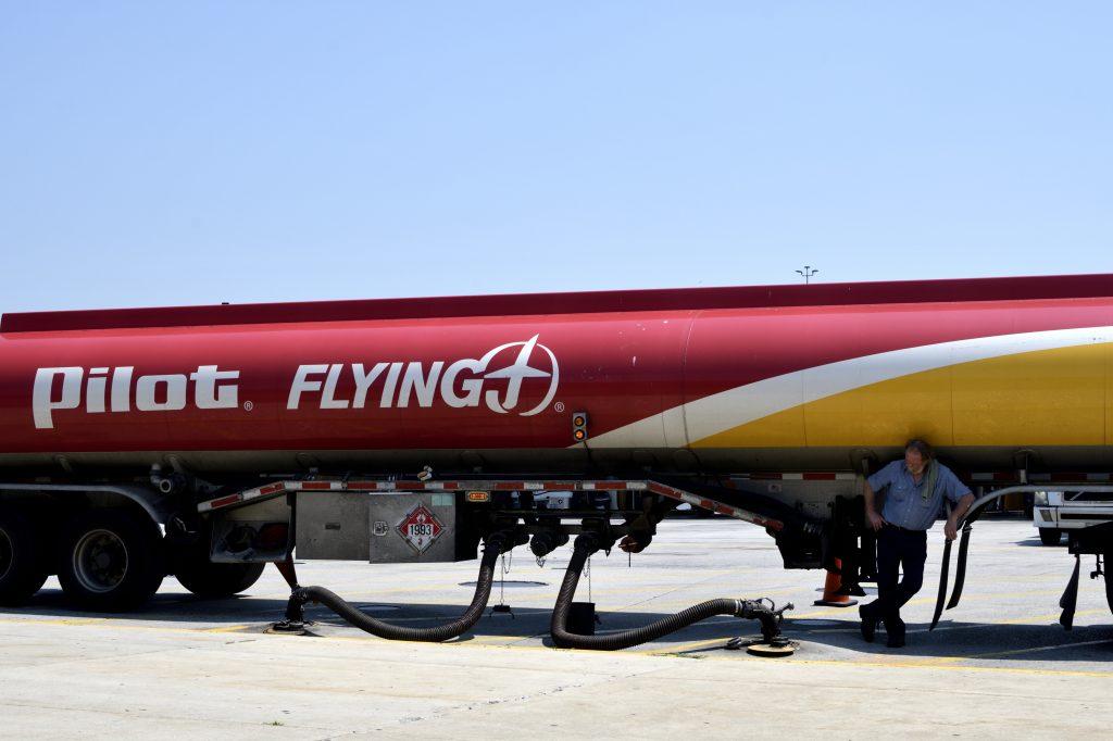 Pilot/Flying J Gas Station Tanker Truck