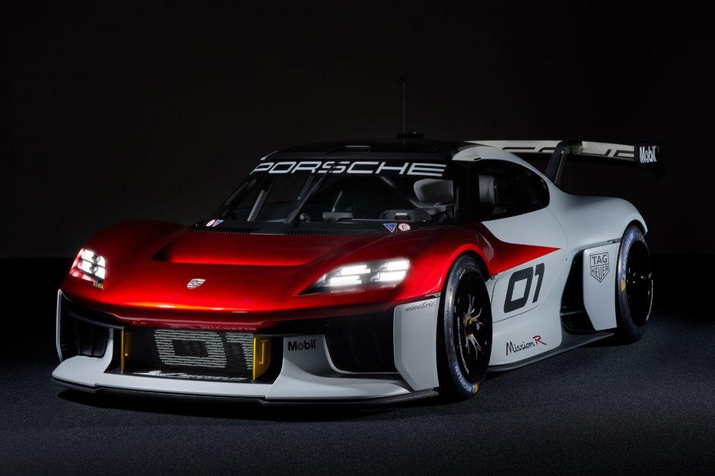 Porsche Mission R race car
