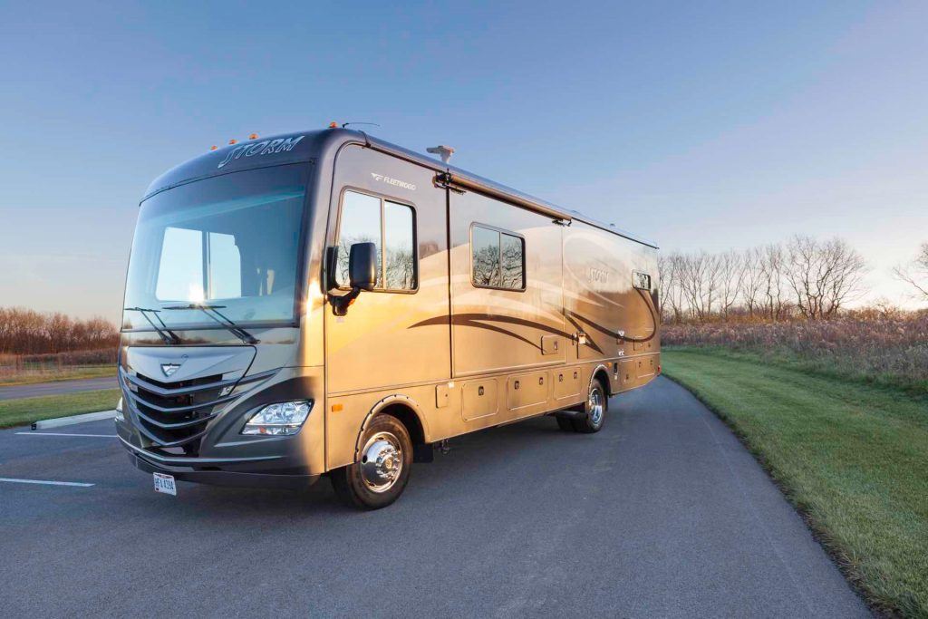 RV Staged for Outdoorsy Listing