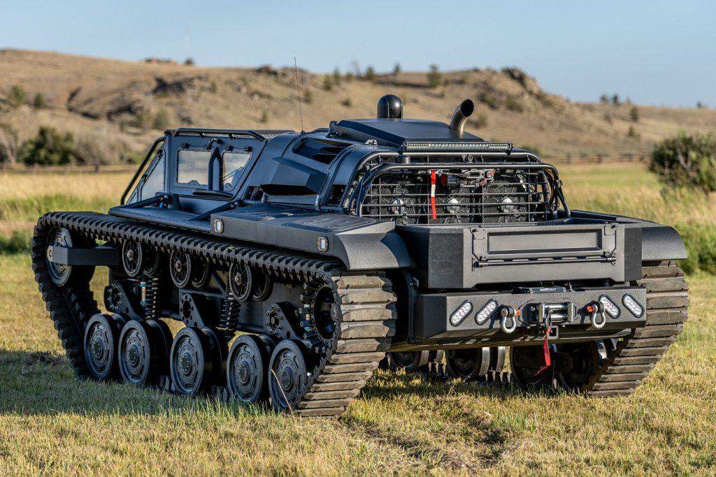 Ripsaw EV3-F4 personal recreation luxury tank