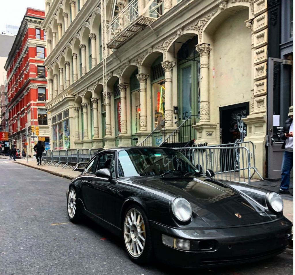 1990 Porsche 964 that I drove to the Bad Boys For Life promo with Will Smith and Martin Lawrence