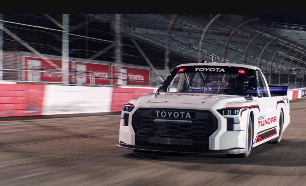 2022 Toyota Tundra NASCAR truck