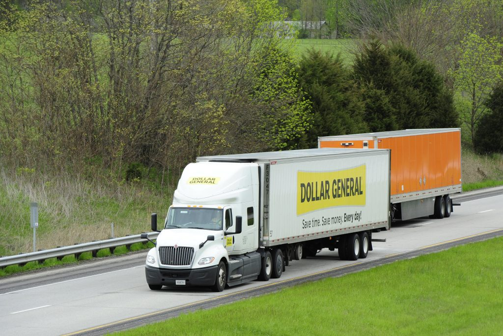 Semi Trucks On The Highway