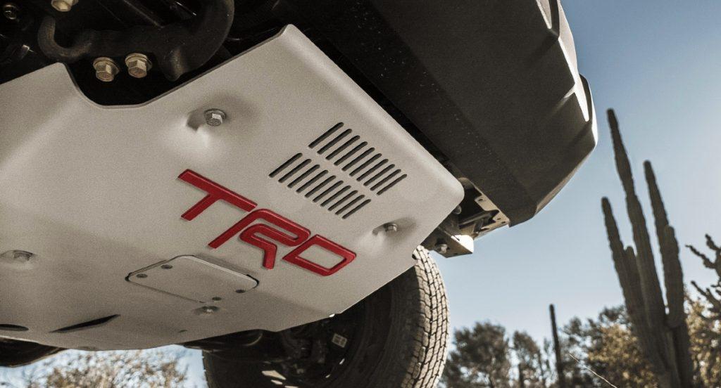 2021 Toyota Tacoma TRD Pro undercarriage