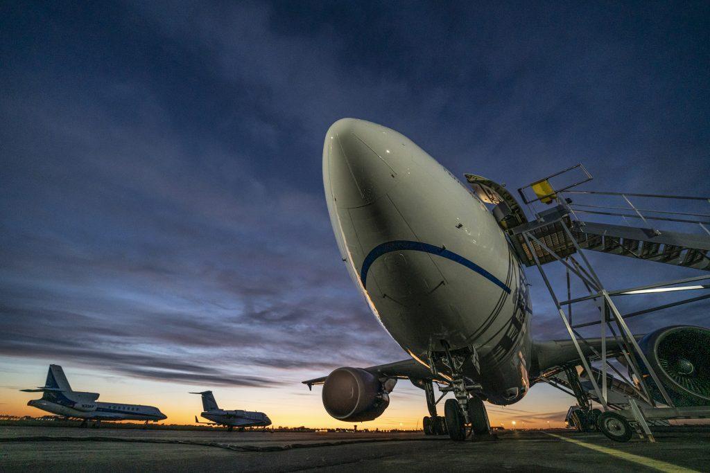 The Zero G Vomit Comet Ready For Weightless Flight