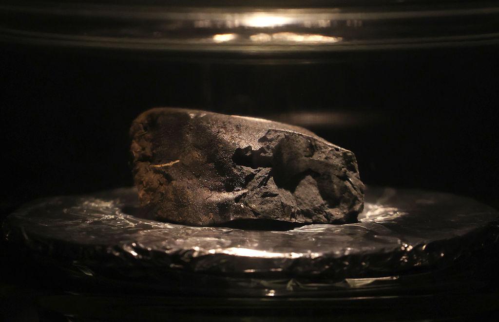 Meteorite that hit the driveway